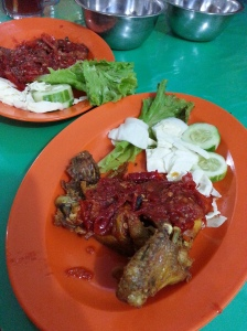 Ayam Penyet Pemuda Semarang