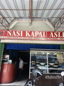 Tampak depan Nasi Kapau Asli
