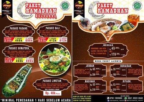 Fusion Paket Ramadhan